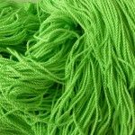 100% Polyester String-100 Pack-Green