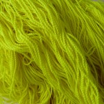 100% Polyester String -100 pack- Yellow